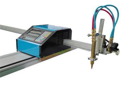 Çin'de yapılan plazma sistemi plazma meşale ve masa kesici kesme metal plazma cnc makinesi