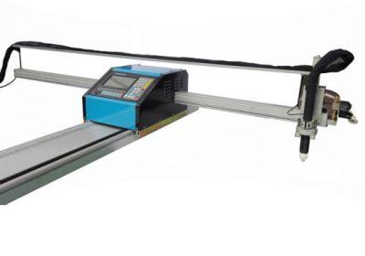 Taşınabilir cnc alev / plazma kesme makinası çelik 8mm cnc bakır metal bakır kesme makinesi