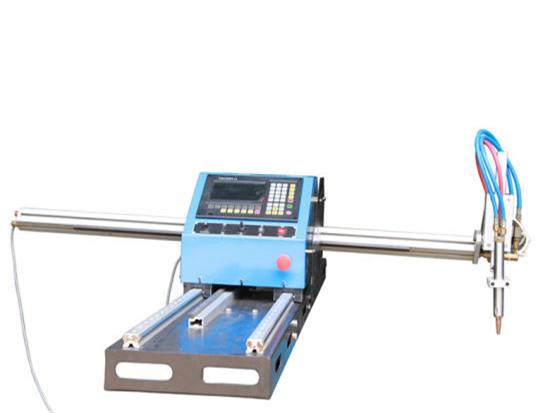 Metal tupe ve borular için taşınabilir plazma boru kesme makinası