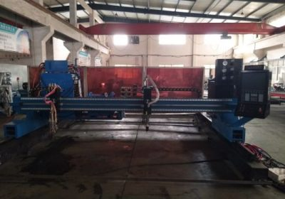 Çelik kesme makinası plazma / alev portal cnc plazma boru kesme makinası
