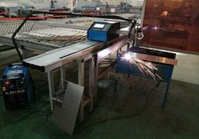 1-15mm Demir Sac için Taşınabilir CNC 100A Plazma Kesme Makinesi