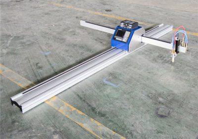 Paslanmaz çelik / cooper plaka için CNC plazma masa kesme makinası