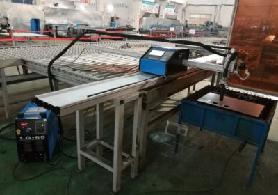 Satılık CNC plazma ve alev kesme makinası taşınabilir kesici