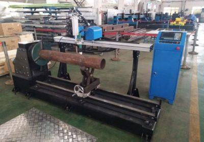Yeni ürün taşınabilir cnc plazma paslanmaz çelik boru kesme makinası