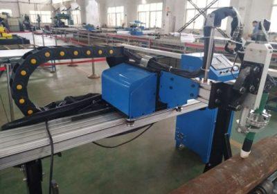 Çelik metal demir paslanmaz çelik için boru kesme cnc plazma makinesi