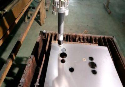 Sertifikalı dayanıklı cnc alev / plazma kesme makinası kolay kullanım istikrarlı taşınabilir cnc plazma kesme makinası