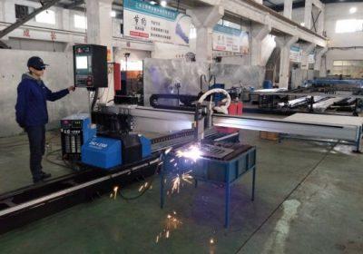 Fabrika fiyat ile çin'den cnc taşınabilir plazma alev boru kesme makinesi