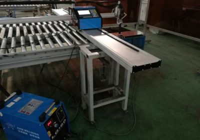 Hobi 1500 * 3000mm boru cnc plazma kesme makinası