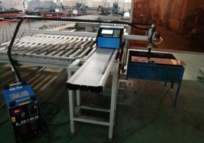 Alüminyum kesim için CNC taşınabilir plazma / alev kesme makinası