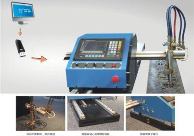 PVC / ahşap / çelik / bakır / her türlü metal kesebilir küçük kesme boşluğu hiçbir tortu / plazma metal kesme cnc makinesi