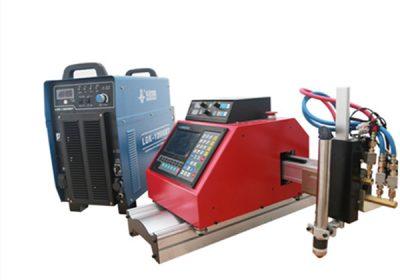 Metal çelik yeni otomatik masa cnc plazma ve alev kesme makinası