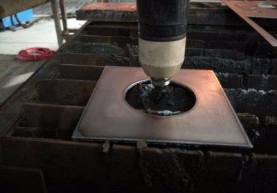 Alüminyum levha / çelik demir plaka için 8/12/40 hava cnc otomatik plazma kesici